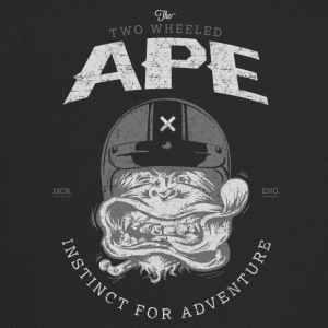 To hjul Ape Windy Biker T-shirt - Trucker Cap