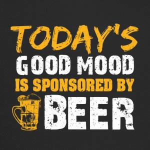 Good mood by beer funny sayings - Trucker Cap
