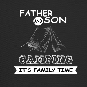 Father And Son - Camping - Trucker Cap