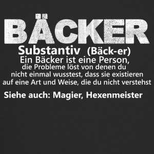 Baeckeristeineperson substantiv - Trucker Cap