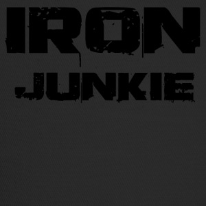 iron junkie black - Trucker Cap
