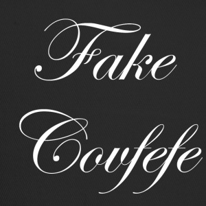 fake covfefe white - Trucker Cap