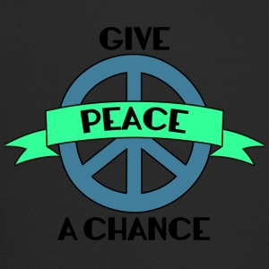 Hippie / Hippies: Give Peace A Chance - Trucker Cap