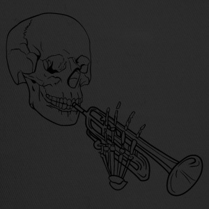 Skeleton with Trumpet - Trucker Cap