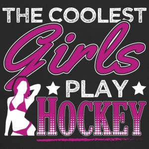 COOLEST GIRLS PLAY HOCKEY - Trucker Cap