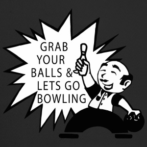 Bowling Grab Your Balls & Let's Go Bowling Retro - Trucker Cap