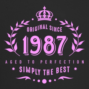 original since 1987 simply the best 30th birthday - Trucker Cap