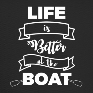 Sailing: Life is better at the boat - Trucker Cap