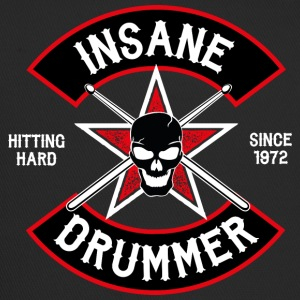 Insane Drummer - Biker Logo - Hitting Hard - Trucker Cap