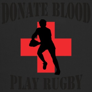 Rugby Donate Blood Play Rugby - Trucker Cap