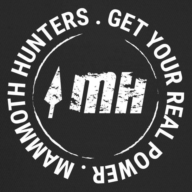 Mammoth Hunters / circular blanco