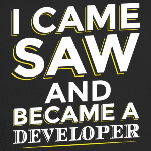 I CAME SAW AND BECAME A DEVELOPER - Trucker Cap