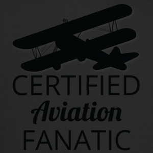 Pilot: Aviation certifié Fanatique. - Trucker Cap