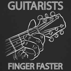 Guitarists finger faster - musik - Trucker Cap