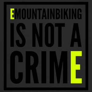 EMOUNTAINBIKING IS NOT A CRIME - Trucker Cap