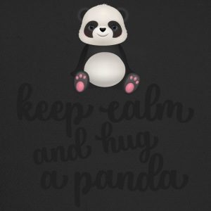 Keep calm and hug a panda - Trucker Cap