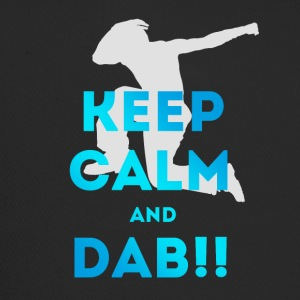 keep calm and dab dance arm above - Trucker Cap