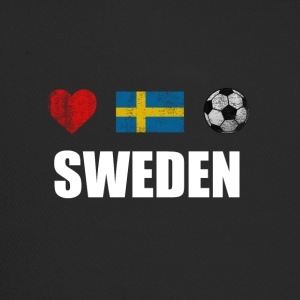 Sweden Swedish Football Soccer T-Shirt - Trucker Cap