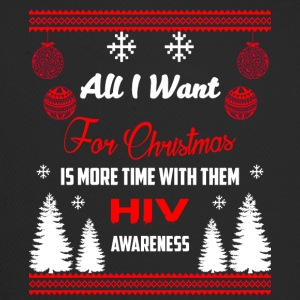 HIV Awareness! All I Want For Christmas! - Trucker Cap