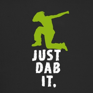 dab green man Dabbing touchdown Football fun cool - Trucker Cap