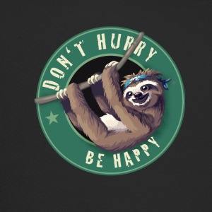 Sloth Starbucks Button lata kul Humor LOL chill - Trucker Cap