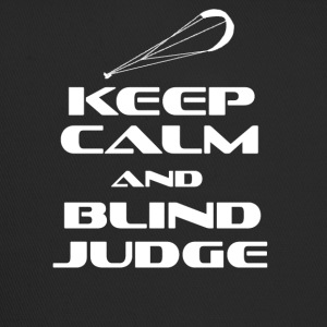 KITESURFING - KEEP CALM AND BLIND JUDGE - Trucker Cap