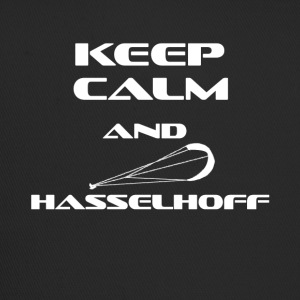 Kitesurfing Keep Calm and Hasselhoff - Trucker Cap