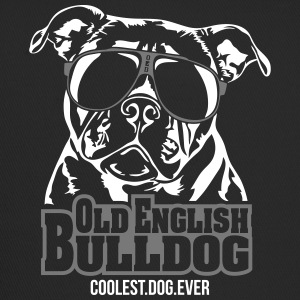 Bulldog Campeiro plus cool chien - Trucker Cap
