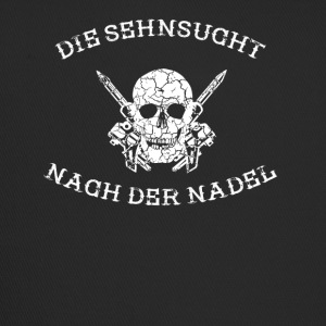 THE SEHNSUCHT AFTER THE NEEDLE tattoo tattooed - Trucker Cap