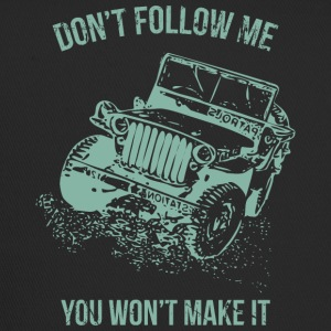Follow Me Jeep Car - Trucker Cap