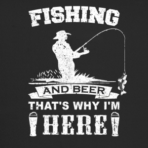 fishing_and_beer_v1 - Trucker Cap
