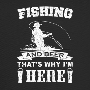 fishing_and_beer_v2 - Trucker Cap