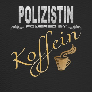 Polizistin powered by Koffein Shirt Design - Trucker Cap
