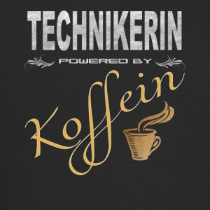 Technikerin powered by Koffein Shirt - Trucker Cap