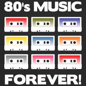 80's MUSIC FOREVER! (White) - Trucker Cap