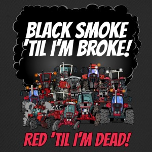 2016_black_smoke_red_IH_tshirt - Trucker Cap