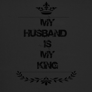 my husband is my king - Trucker Cap