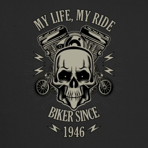 Gift for Biker - Year 1946 - Trucker Cap