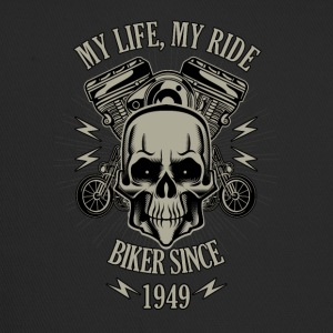Gift for Biker - built in 1949 - Trucker Cap