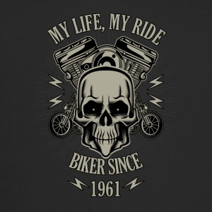 Gift for Biker - built in 1961 - Trucker Cap