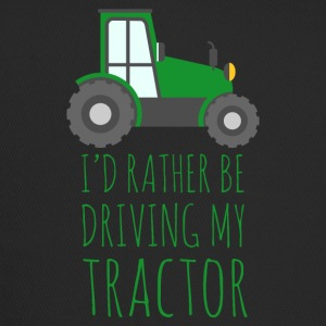 Farmer / Farmer / Farmer: I'd rather be driving - Trucker Cap