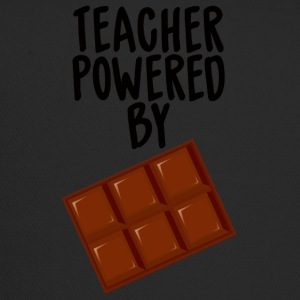 Lehrer / Schule: Teacher Powered By Chocolate - Trucker Cap