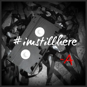 #imstillhere by q.eeveedesigns - Trucker Cap