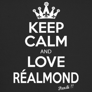KEEP CALM and LOVE RÉALMONT B01 - Trucker Cap