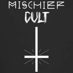 Mischief Cult | Omgekeerd Kruis Design | occult - Trucker Cap