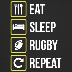 Eat Sleep Rugby Repeat - Trucker Cap