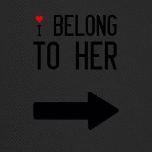 I belong to her - Trucker Cap