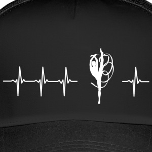 I love twirling (twirling heartbeat) - Trucker Cap