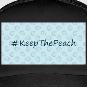 Hashtag Keep The Peach - Trucker Cap