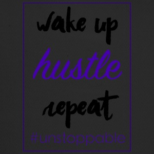 wake up, hustle, repeat - Trucker Cap